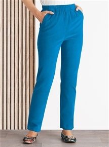 Pull On Stretch Cord Pants
