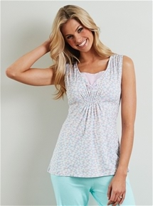 Sleeveless PJ Top