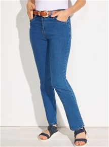 Fit and Flatter Denim Jeans - Short Length