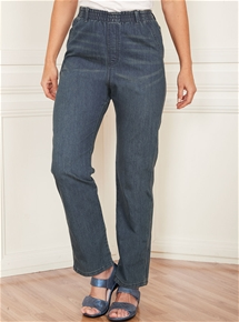Stretch Pull-On Jeans