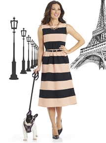 Chiquitita Stripe Dress