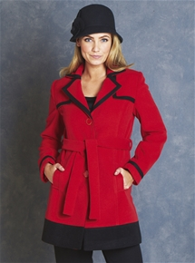 Cherie Wool Mix Coat
