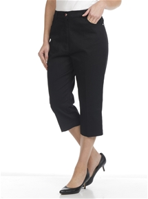 Floraltine Stretch Capri