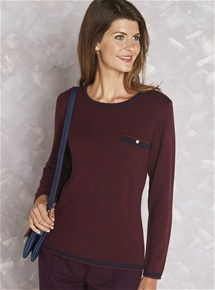 Bellagio Contrast Sweater
