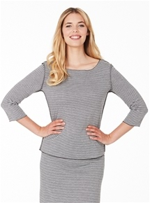 Travel Reverse Knit Top