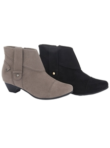 Ada Zip Booties