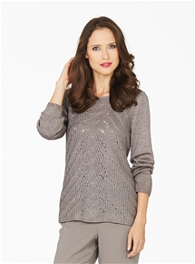 Oslo Metallic Jumper