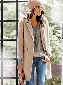 Wool Mix Coat