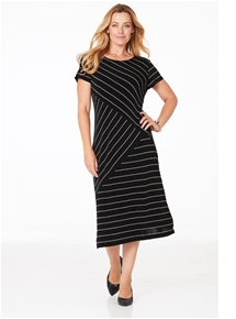 Travel Mix Stripe Dress