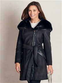 Tango Fur Hooded Coat