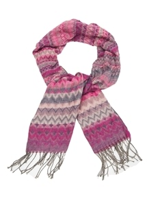 Printed Scarf Wrap