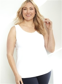 Front Lined Tank [PLUS SIZE]