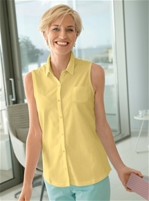 Sleeveless Essential Blouse