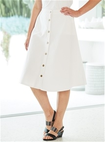 Lightweight Denim Skirt