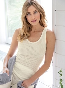 Pointelle Knit Vest - Pack of 2
