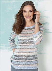 Perfection Ribbon Stripe Sweater