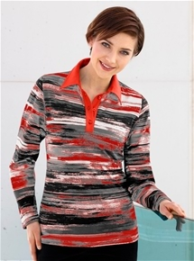Monet Stripe Polo