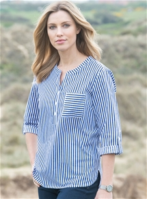 Stripe Tunic Top
