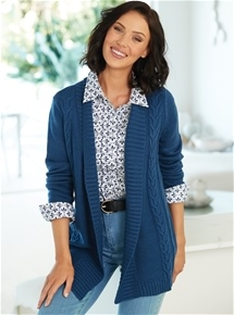 Fancy Knit Cardigan