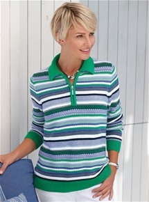 Marine Stripe Sweater