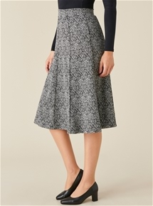 Knit Panelled Skirt