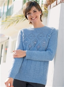 Diamond Pattern Sweater