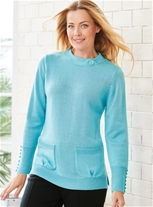 Thermal Longline Sweater