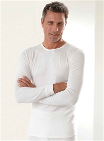 Men's Brushed Rib Long Sleeve