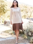Knit Dress with Necklace_18F35_0