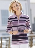 Fresh Stripes Polo Sweater_18R52_0