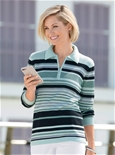 Fresh Stripes Polo Sweater_18R52_1