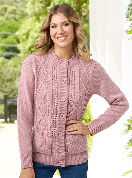 Basic Cable Cardigan