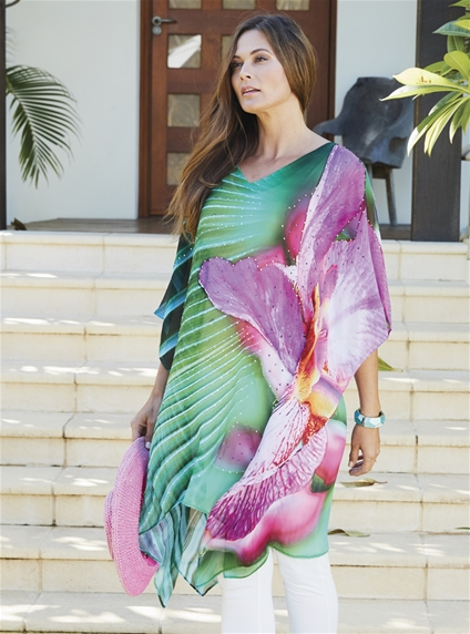 Eden Flowers Bloom Kaftan